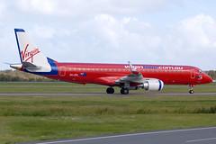 VH-ZPL 'Samba Blue' Embraer 190-100IGW Virgin Blue Airlines (Robert Frola Aviation Photographer) Tags: nikond70 2009 embraer virginblue embraer190 ybbn vhzpl