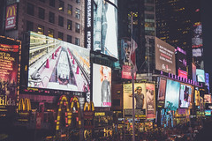 Times Square, New York, New York State, United States of America. (digitalreflections) Tags: street city newyorkcity sky people usa newyork tower car shop horizontal skyline architecture modern night america skyscraper outdoors photography lights downtown neon traffic unitedstates bright taxi text unitedstatesofamerica citylife illuminated mcdonalds billboard communication american transportation timessquare northamerica glowing newyorkstate highstreet manhatten development onthemove taillight worldfamous travelphotography digitalsignage traveldestinations famousplace buildingexterior internationallandmark largegroupofpeople colourimage manhattannewyorkcity consumerproduct commercialsign timessquaremanhattan westernscript newyorkstatenewyork