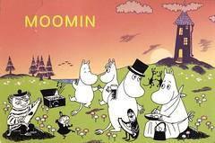 (Peregrina Tyss) Tags: moomins booksillustrations