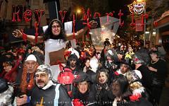 Rey y Martir 2 (laluzdivinadetusojos) Tags: carnival collage mas catalonia parade rey artur martir