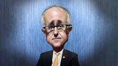 Malcolm Turnbull - Caricature (DonkeyHotey) Tags: art face photomanipulation photoshop photo political politics cartoon australia parliament manipulation wentworth caricature politician leader mp member campaign karikatur caricatura primeminister commentary liberalparty politicalart karikatuur politicalcommentary donkeyhotey