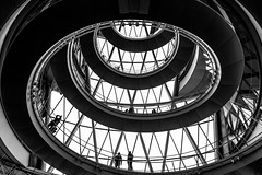 Whip (TS446Photo) Tags: street camera city people blackandwhite bw white house black building london monochrome lines thames architecture modern club stairs contrast spiral photography mono office nikon df open mayor landmark icon southbank staircase dslr iconic openhouse 1835mm nikon1835mm nikondf