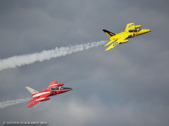 gnats-1-1-1 (Stewart Taylor (SMT Photography)) Tags: classic flying aircraft aviation air flight airshow trainer raf airdisplay royalairforce churchfenton folland flyingdisplay follandgnat classicjet gnatsgnat hpfolland