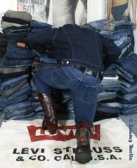 self2808 (Tommy Berlin) Tags: men ass butt jeans ars cowboyboots wrangler levisjacket
