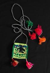 Bag Bolsa Tepehuano Mexico Durango (Teyacapan) Tags: mexico eagle embroidery mexican bags textiles bolsa indigenous aguila bordados tepehuano