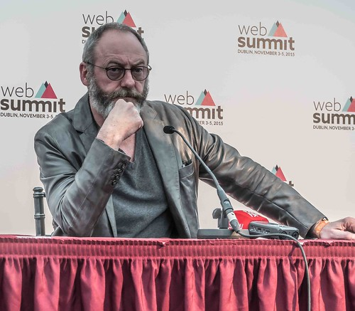 WEB SUMMIT 2015 - LIAM CUNNINGHAM MEETS THE PRESS [ACTOR]-109583