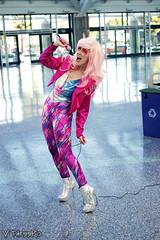 Angi Viper - Dazzler (V Threepio) Tags: girl costume outfit geek cosplay posing xmen marvel comicconvention unedited dazzler angiviper comikaze2015