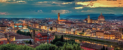 Florence Panorama (Cole Chase Photography) Tags: italy panorama canon florence tuscany 5d firenze duomo piazzamichelangelo markiii