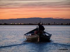 El barquero. (Salvamat.) Tags: barquero elsaler laalbufera