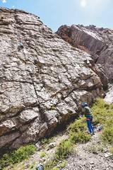 Cajn del Maipo - Valles las Arenas (54) (lxrdrg) Tags: climbing montaa escalada cajondelmaipo escaladadeportiva vallelasarenas pareddejabba pareddejabbah