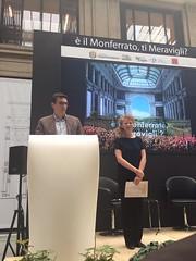 Padiglione Monferrato per Expo, Galleria Meravigli, 4 settembre 2015