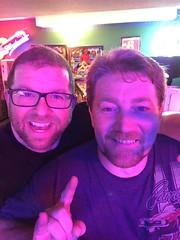 Day 361 (GearBoxTy) Tags: beard goatee doug neonlight 365days appleiphone6 cararraglasses