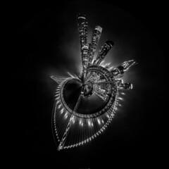 black city sail (pbo31) Tags: california bayarea nikon d810 boury pbo31 october fall 2016 black dark recovery sanfrancisco city night blackandwhite southbeach skyline urban bridge baybridge polarized planet lights embarcadero
