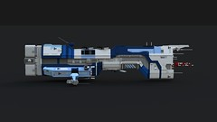 Redeemer-class dreadnought (KANICHUGA) Tags: spaceship space starship lego military shiptember moc scifi battleship shiptember2016