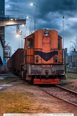 740.795-0 | tra 331 | Zlin-stred (jirka.zapalka) Tags: trat331 train zlin rada740 stanice czech