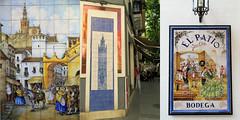 A Sville, Andalucia, Espana (claude lina) Tags: claudelina espana spain espagne andalucia andalousie ville city town sevilla sville faences