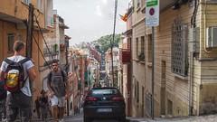 Barcelona streets (Ross Major) Tags: barcelona spain espana catalonia streetscape street people europe olympusepm2