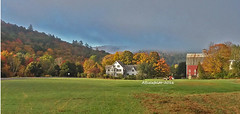 Vermont-Farmhouse (PhotoTrips_ArtApril) Tags: cellphonepicture vermont wwwfallphototripscom newengland fallfoliage 2016 wwwyourphototravelguidecom farms rurallandscape photographytour