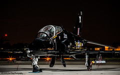 Hawk (Dan Elms Photography) Tags: northolt northoltnightshootxxi nightshoot night nighttime long longexposure lights light dark evening october 2016 pm photo airplane plane raf london airforce