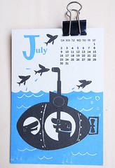 2017 calendar / Kyoko Nemoto (Kyoko Nemoto) Tags: 2017 2017 calendar design postcard childrensbook dog flog illustrator illustration silkscreen print art artwork