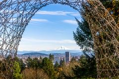 Mount Hood (Ton Trn - Freelance Photographer) Tags: oregon toantranphotographer outdoor mounthood city skyline clouds bluesky portland usa scenic landscape