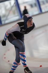 A37W0257 (rieshug 1) Tags: speedskating schaatsen eisschnelllauf skating nkjunioren knsb nkjuniorenallroundafstanden afstanden allround 50010001500massstart demeent alkmaar sportcomplexdemeent juniorenb ladies dames 3000m