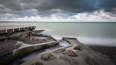 La Veules (amateur72) Tags: fujifilm normandie paysdecaux veuleslesroses xf1024mm cliffs clouds falaises mer nuages xt1