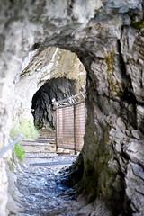 Path inside the mountain (wuyanxu) Tags: september switzerland lauterbrunnen bern ch