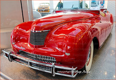 19XX Chrysler LeBaron_FL_1 (sh10453) Tags: auburnhills michigan usa walterpchrysler dodge plymouth jeep museum trucks automobiles vintage detroit autoindustry canon5d efllenses fiat fca red crimson