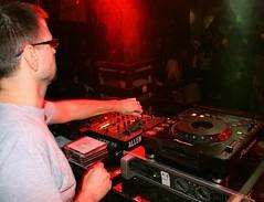 Let the music play (RECTANGULAR ART) Tags: dj club party kocka split croatia hrvatska music disco player cdplayer pioneer redlight mixer audiomixer arm hand cdj1000 klub