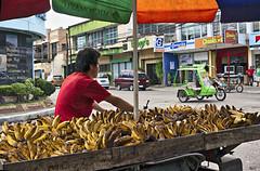 Bananaman (Beegee49) Tags: street bananas motorcycle vendor bacolod city philippines