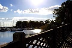 hourtin (bijoubijoufr) Tags: lake hourtin gironde boat autumn