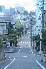 tokyo6072 (tanayan) Tags: urban town cityscape tokyo japan akabane nikon j1    road street alley slope