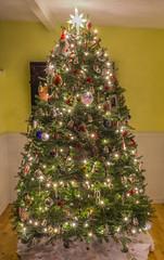 2016 CHRISTMAS TREE (jlucierphoto) Tags: tree christmas 2016 lites holiday balsam fir decorations ornaments nikon d7100 24mm lens