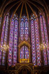 Sainte Chapelle, Paris, France (Etienne Gaboreau) Tags: ledelacit paris france glise church laseine eglise religion saintlouis stlouis christiannity christian chrtien vitraux colors couleurs