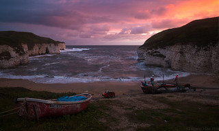 Wavecrest Sunrise, Flamborough, UK