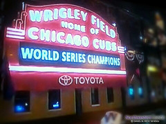 Congrats to our WORLD CHAMPION #Chicago @Cubs! #FlyTheW!! (Daniel M. Reck) Tags: northwestern northwesternuniversity b1gcats marchingband band music education students chicago evanston illinois numb