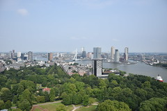 607 ft (lucasual) Tags: netherlands rotterdam city euromast tower high heights view river cityscape architecture trees sky outlook