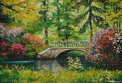 DSC_1570 (Ultrachool) Tags: serene outdoor garden bridge jigsawpuzzle