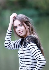 DP1U5502 (c0466art) Tags: beautiful russian girl valeria pure quality pretty face eyes student sweet lovely elegant pose action charming gorgeous outdoor portrait  natural park light canon 1dx c0466art