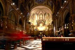Esglsia de Montserrat (Long Exposure) (Lidia Martn) Tags: montserrat iglesiademontserrat longexposure largaexposicion barcelona
