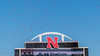 Huskers Memorial Stadium First Touchdown Celebration (Codydownhill) Tags: football game huskers big red sports portrait trophy brother dad