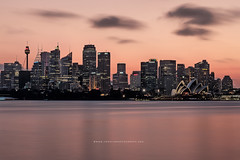Sydney's Skyline (tonylimphotography) Tags: cremorne sydney operahouse nsw australia longexposure leefilter sunset water fujifilm fuji xt2