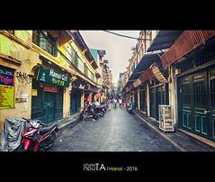 Morning old quarter (Ta Anh Tuan) Tags: hanoi landscape vietnam oldquarter street streetlife