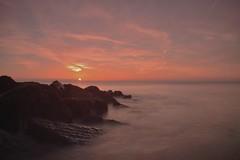 Rocky Start (hall1705) Tags: rockystart felpham water sunrise rocks seascape sea seaside longexposure sun d3200 westsussex