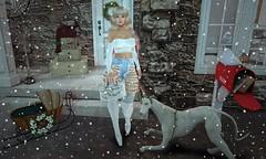 First Snowfall (Raee Raya Aristotle (Rachel Acoustic)) Tags: sintiklia hairs essences skins bf accessories perch yumz qessentials storaxtree stylehaus essence the frozen fair 2016