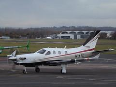 M-ATTI Socata Daher TBM 930 (Aircaft @ Gloucestershire Airport By James) Tags: gloucestershire airport matti socata daher tbm 950 egbj james lloyds