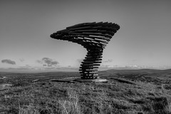 SINGING RINGING TREE PANOPTICON, BURNLEY, LANCASHIRE, ENGLAND. (ZACERIN) Tags: zacerin christopher paul photography pictures of the uk united kingdom hdr photograpy halo panopticon burnley lancashire england panopticon panopticons lancashire panopticons uk united lancashire north west england singing ringing tree history singing tree elean