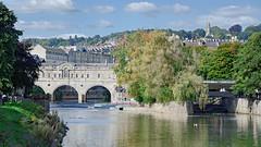 Bath (Rob McC) Tags: bath river waterfront reflection buildings architecture historical bridge pulteney landscape cityscape