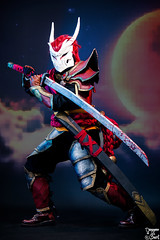 Yasuo Bloodmoon. (Bart) Tags: jaune canonef70200mmf4lisusm ef70200mmf4lisusm 70200mm f4l is usm f4 l toulouse game show tgs toulousegameshow cosplay cosplayer cosplayeuse 5dmark2 5d mark2 5dmarkii canon eos cleavage sexy skirt dress pantyhose princess legs charming cute pinup beauty woman girl women costumade comics comic books comicbook modele model bokeh costume boobs breast yasuo bloodmoon leagueoflegends league legends